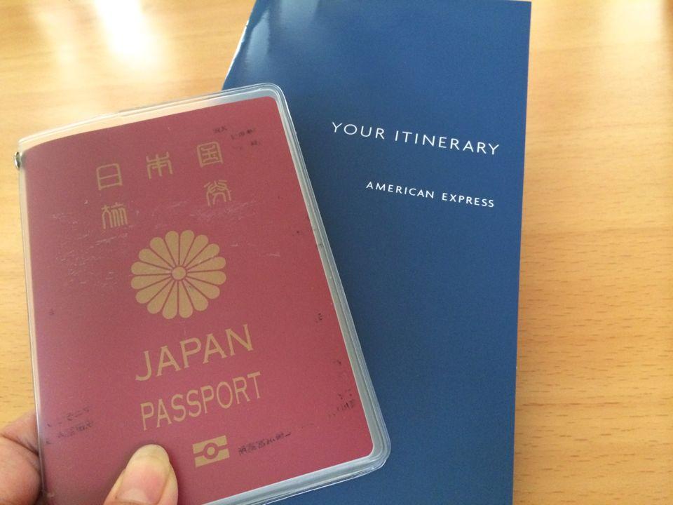 忘れちゃいけないパスポートとeチケット