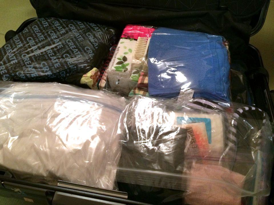 フィリピン留学の荷物