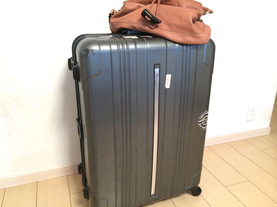 フィリピン留学に持っていくスーツケース