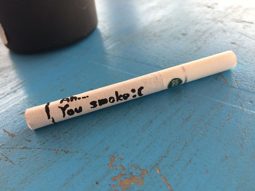 you smoker