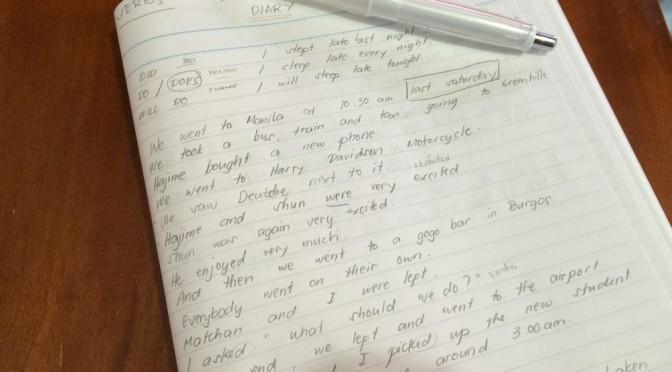 フィリピン留学3週間が終わって英語の上達を少しだけ感じてきた!超初級には日本語の授業は助かります。