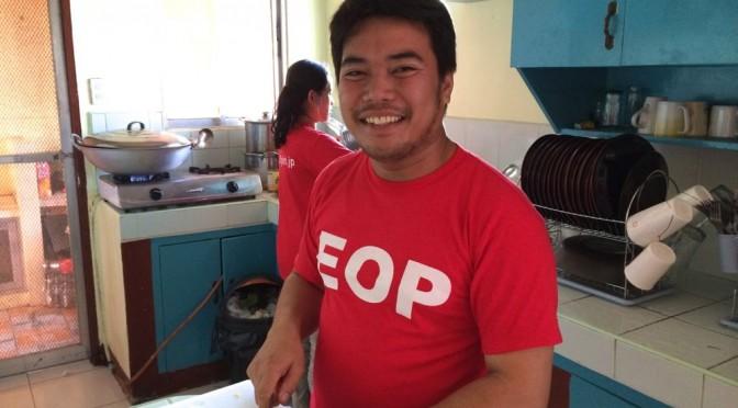 フィリピン留学で心配してた食事ですが、元ホテルシェフのご飯が美味しすぎて太ります…。
