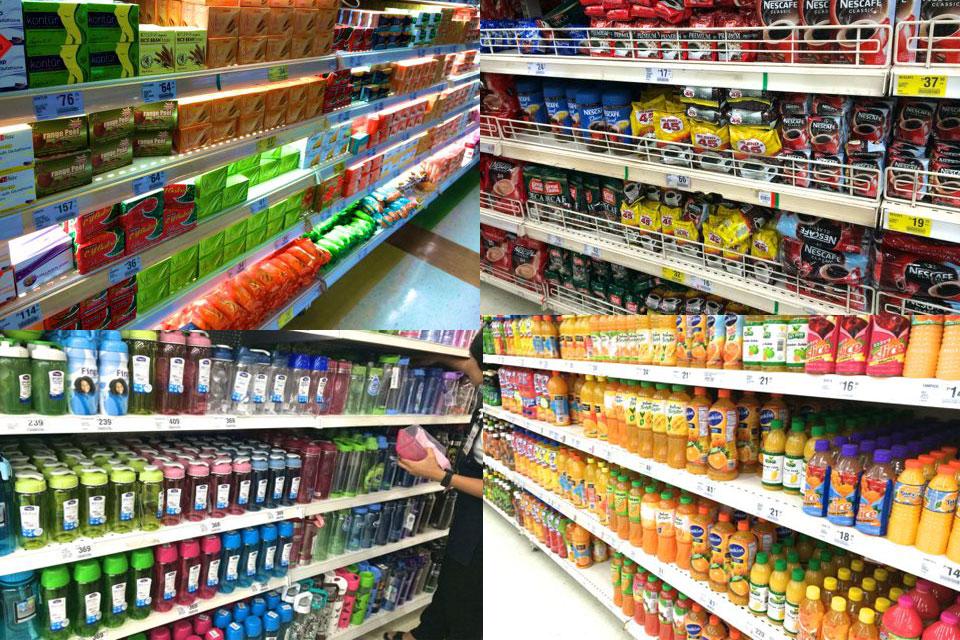 SMスーパーマーケットは珍しいものがたくさんあります