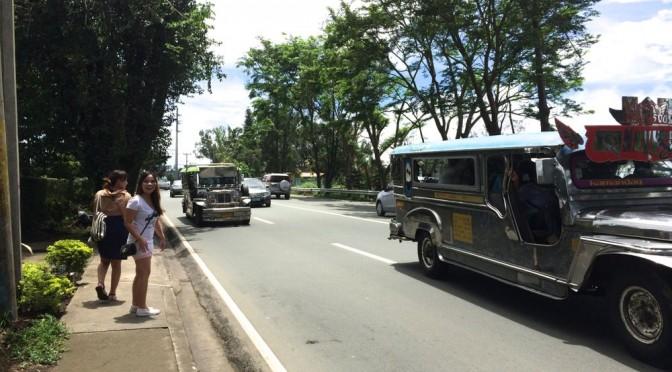フィリピン留学で初ジプニー!ロビンソン、マホガニーマーケット、スタバにお出かけ