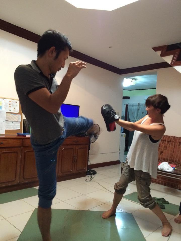 フィリピンでキックボクシング