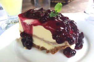 bag_of_beansのブルーベリーチーズケーキは最高に美味しい
