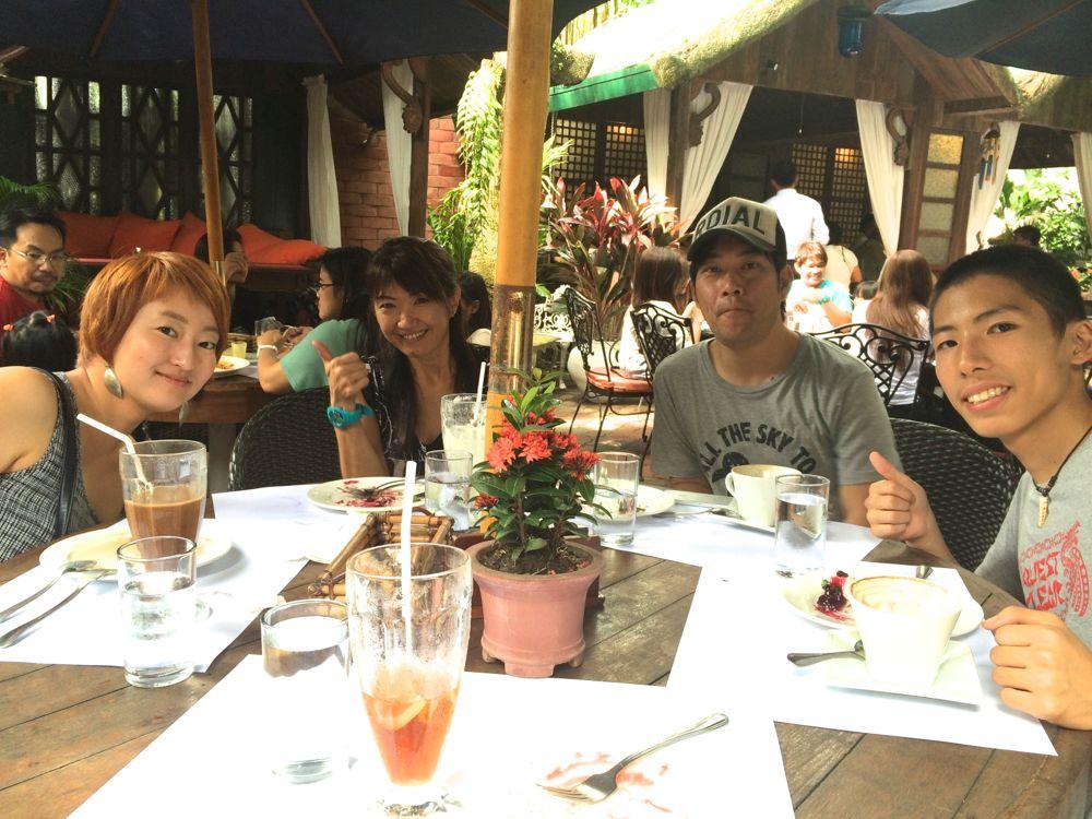 bag_of_beansでラジオ留学を運営している中谷さんと食事