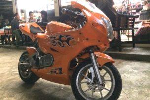フィリピンの人もバイク好きなのね