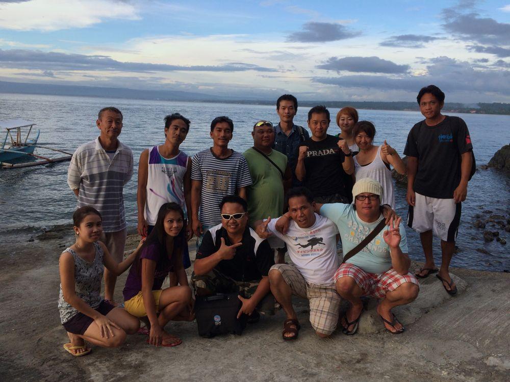 フィリピンバタンガスのSan Luis/サンルイズという街にあるサマークルーズ海の家