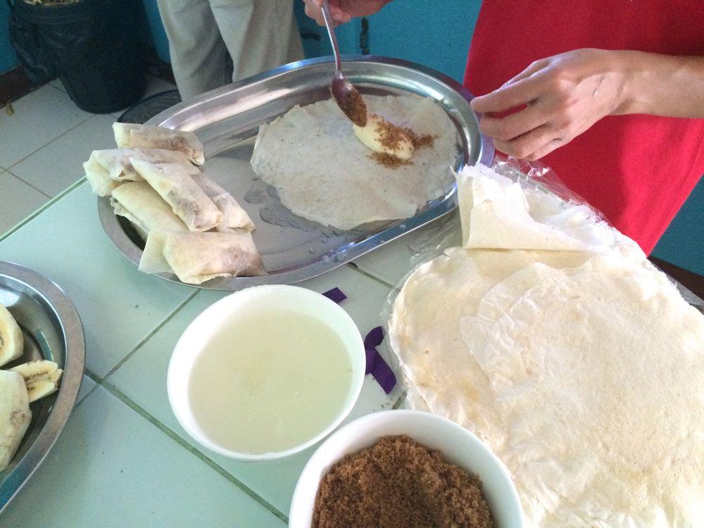 フィリピンのデザート、トゥロンの作り方