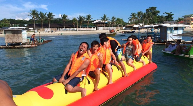 フィリピンのバタンガスの海でバーベキューしてきました