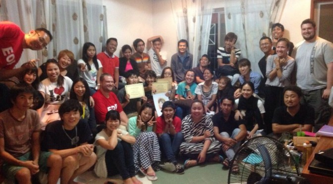 フィリピンの語学学校Face to Faceを卒業しました!