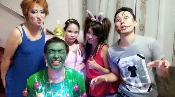 フィリピン留学のハロウィンパーティーで人生初のコスプレを経験