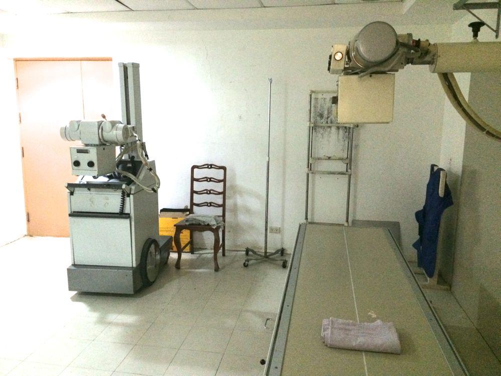 フィリピンの病院で使用しているレントゲン代は古いのかな