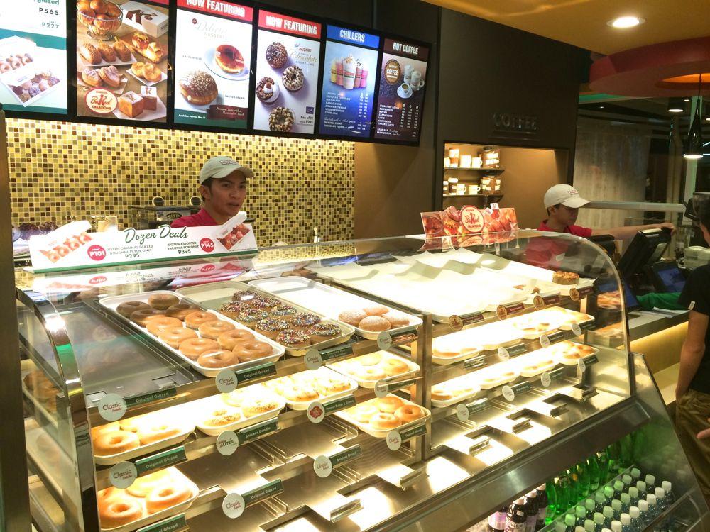 Krispy Kreme(クリスピー・クリーム)のドーナツ
