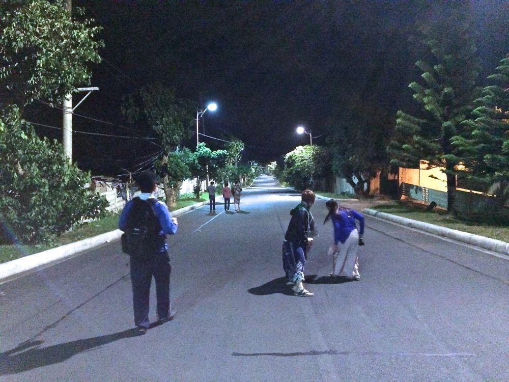 フィリピンでできた想い出の坂道