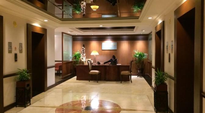 マニラのヘリテージホテルでも英語でチャレンジしました!