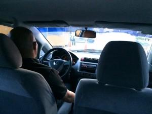 ヘリテージホテルからマニラ空港へはホテルが用意した車で送ってもらえます。800ペソ