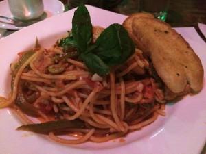初めて英語で注文したのはスパゲティー